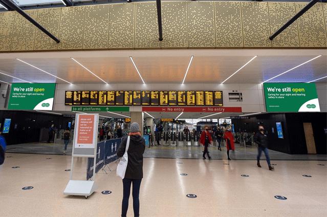 AOTO Provide Visual Upgrade for Leeds Railway Station